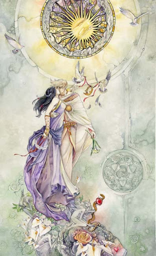 The Lovers - Shadowscapes Tarot