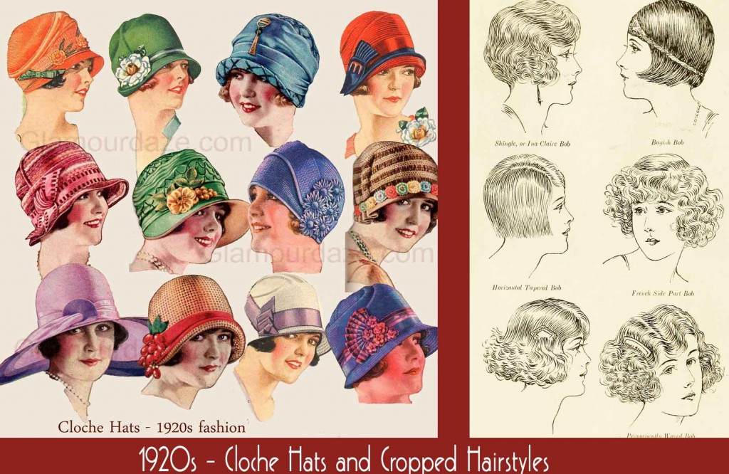 1920s-fashion-cloche-hats-and-cropped-hairstyles
